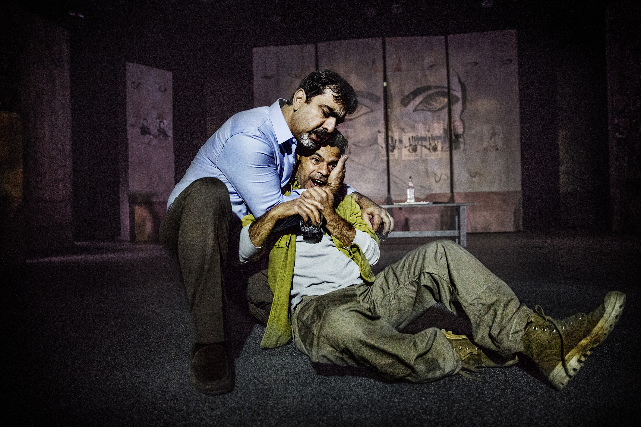 arab angst on swedish stages