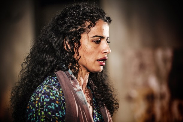 "Helen Al-Janabi as Roaa in ""I Came to See You"", directed by Karim Rashed."