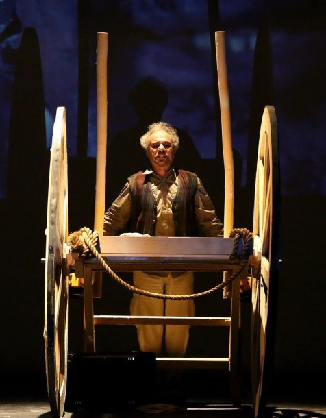 Aziz Khayoun in The Cart by Hamed Al Maliki. Photo courtesy of the playwright.